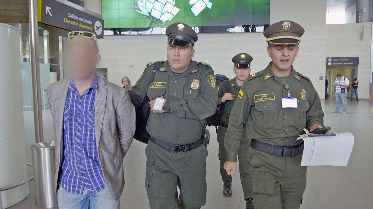 Airport Security Colombia